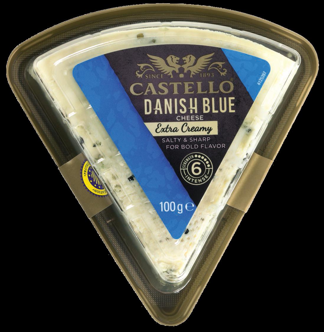 Castello® Extra Creamy Danish Blue, 100g