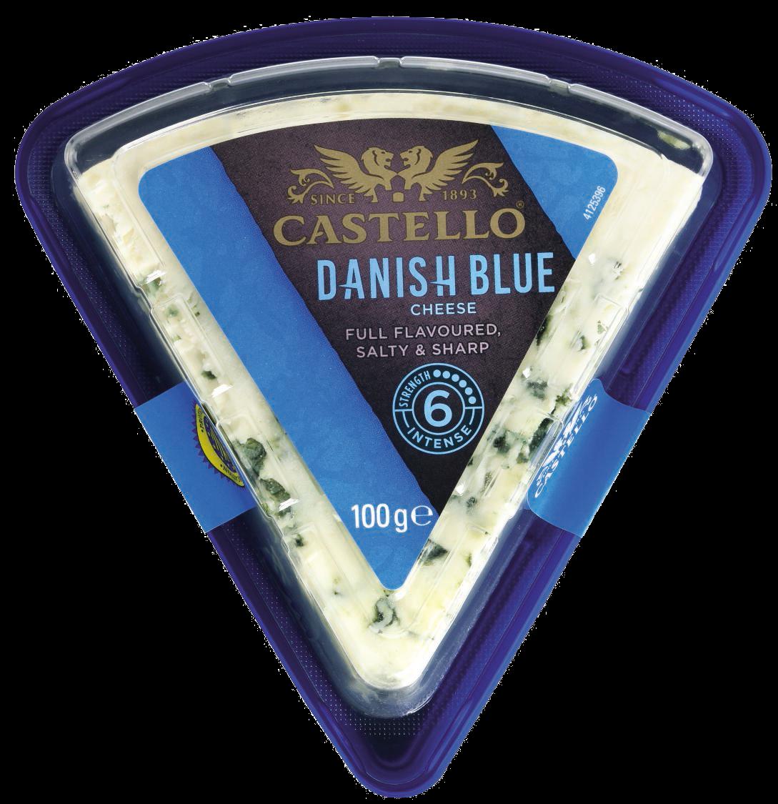 Castello® Traditional Danish Blue, 100g