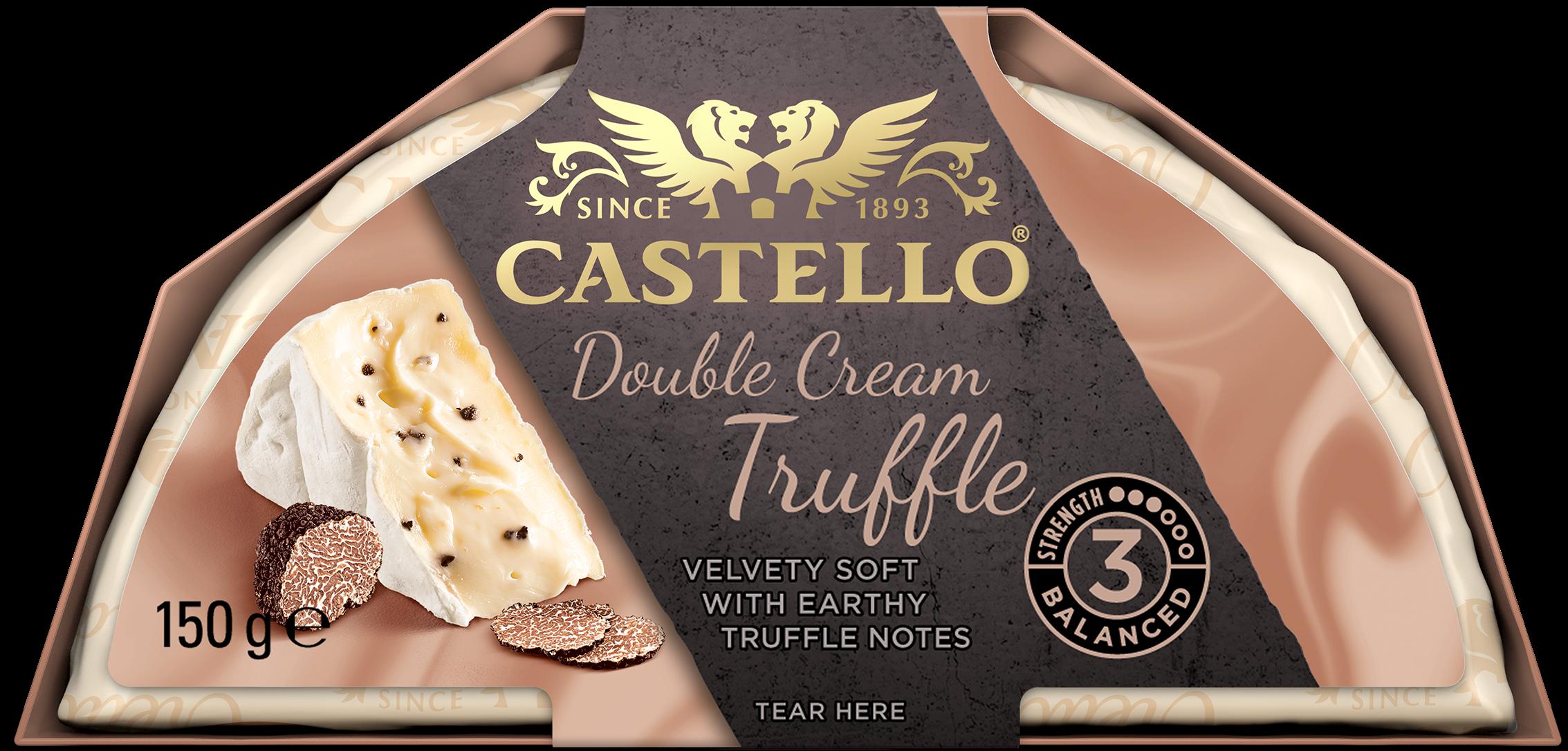 Castello® Double Cream Truffle, 150g
