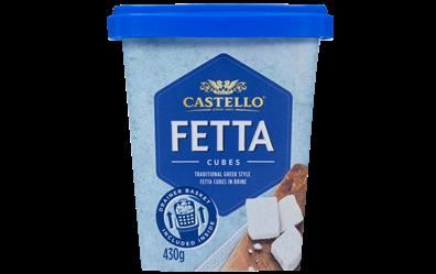 Castello® Traditional Fetta Cubes in Brine, 430g