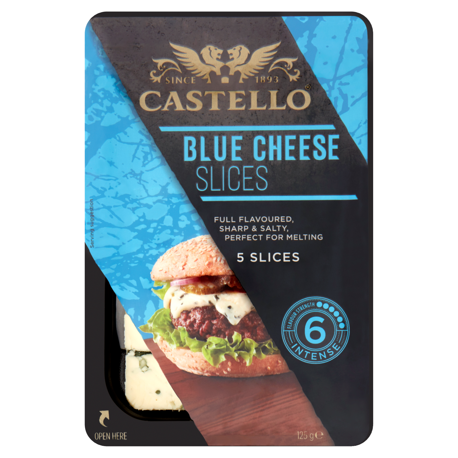 Castello® Blue Cheese Slices