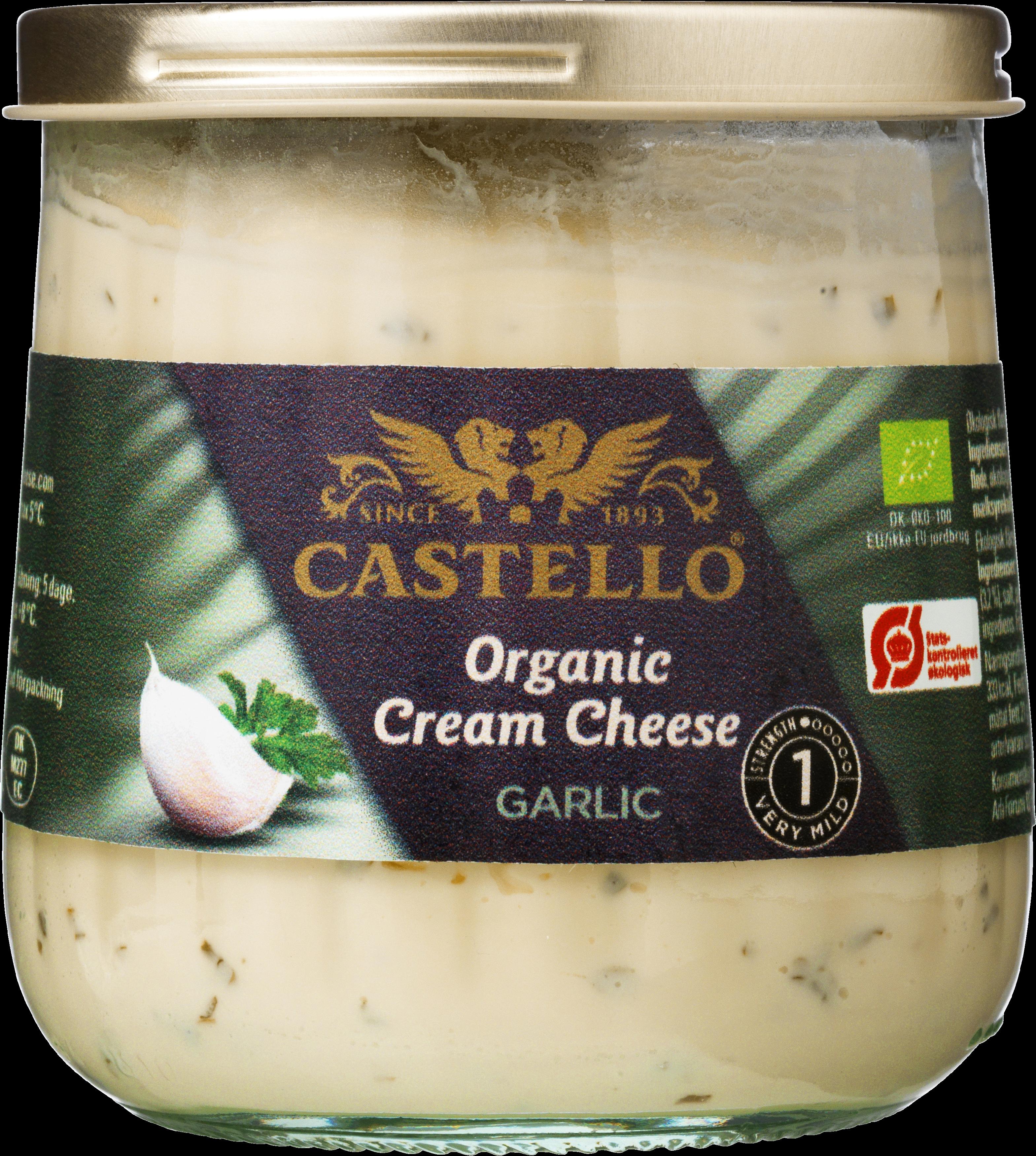 Castello® økologisk flødeosthvidløg