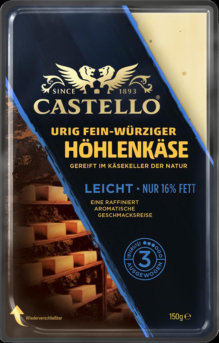 Castello® Höhlenkäse Light