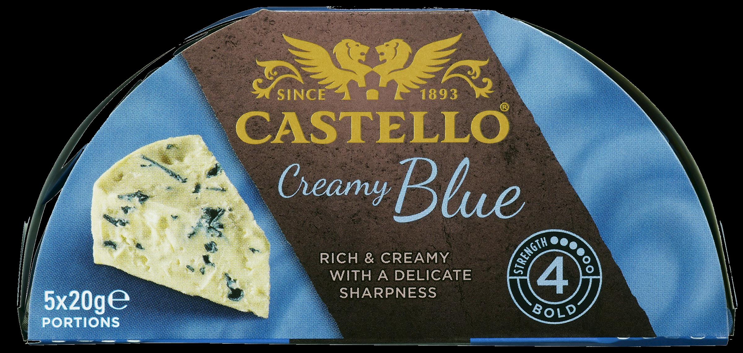 Castello® Creamy Blue Portion Pack